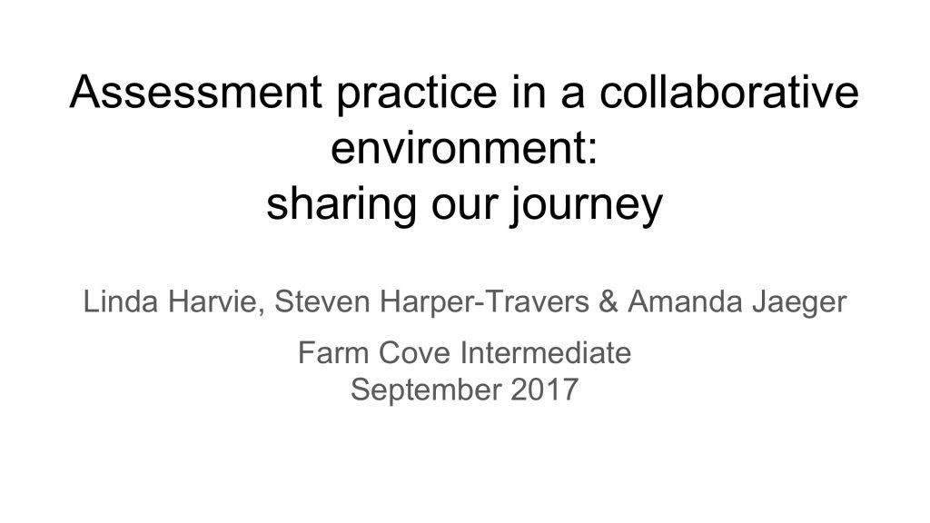 Farm Cove Intermediate Presentation - Osprey Consulting